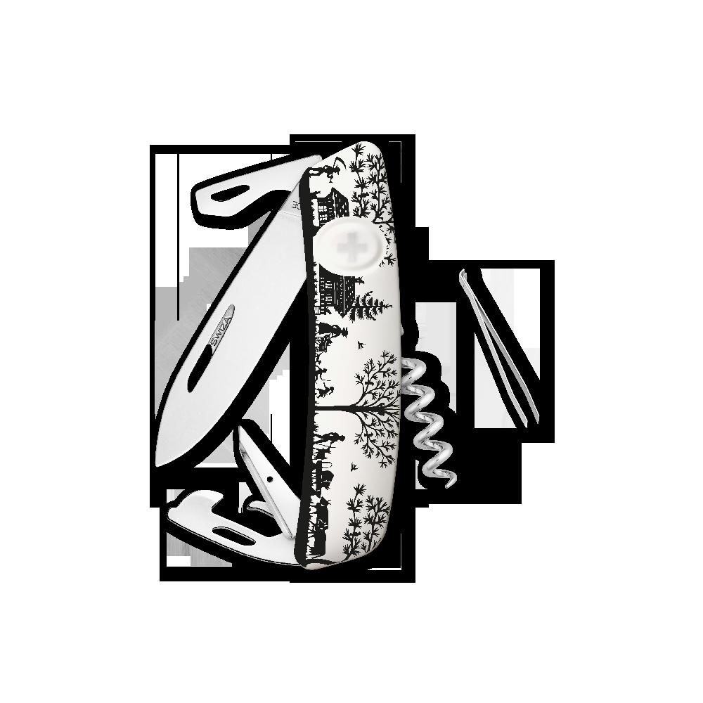 SWIZA Swiss Knife SWIZA D03 HEIMAT White - KNB.0030.HEI3