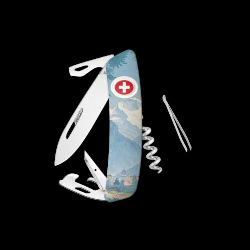 SWIZA Swiss Knife SWIZA D03 INTERLAKEN White - KNB.0030.IN19