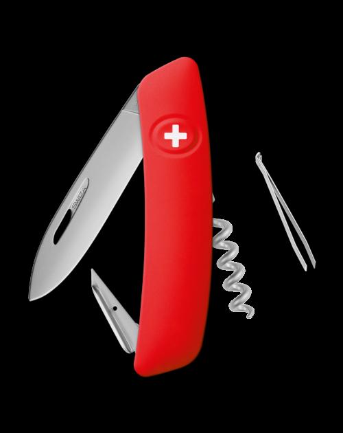 SWIZA Swiss Knife SWIZA D01 AM Red - KNI.0016.1000