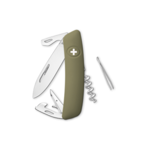 SWIZA Swiss Knife SWIZA D03 Olive - KNI.0030.1050