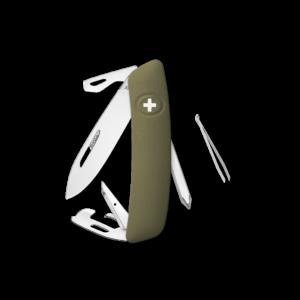 SWIZA Swiss Knife SWIZA D04 Olive - KNI.0040.1050
