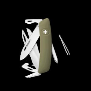 SWIZA Swiss Knife SWIZA D08 Red - KNI.0120.1000