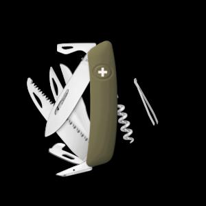 SWIZA Swiss Knife SWIZA D09 Black - KNI.0130.1010