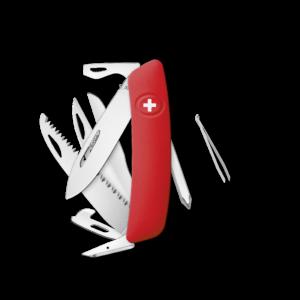 SWIZA Swiss Knife SWIZA D10 Red - KNI.0140.1000