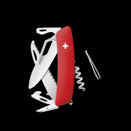SWIZA Swiss Knife SWIZA SH05R Red - KSH.0050.1000