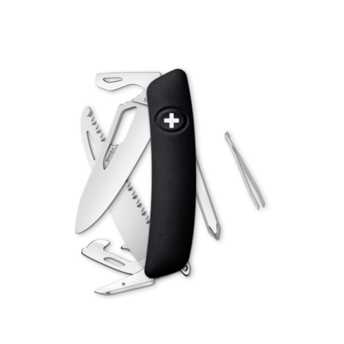 SWIZA Swiss Knife SWIZA SH06R Black - KSH.0060.1010