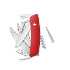 SWIZA Swiss Knife SWIZA SH09R Red - KSH.0130.1000