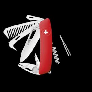 SWIZA Swiss Knife SWIZA SH09R-HTT Red - KSH.0160.1000