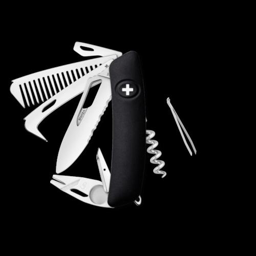 SWIZA Swiss Knife SWIZA SH09TR-HTT Black - KST.0160.1010